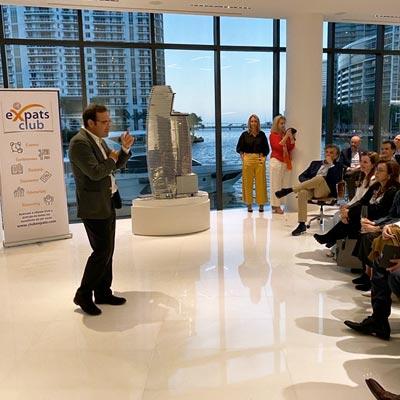 """Conferencia: """"El éxito en la vida"""" para Air Europa y Club eXpats"""