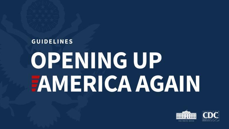 Opening Up America Again - Guidelines - Ignacio Isusi