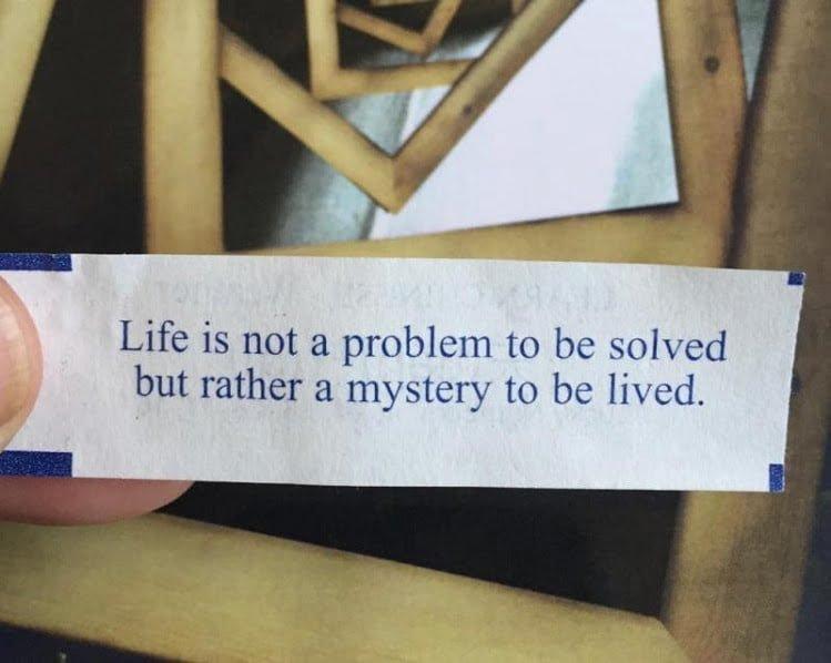 Un misterio para ser vivido
