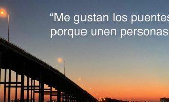 Los puentes unen a las personas